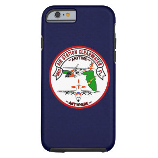 """Coast Guard Air Station Clearwater  """"Navy Blue"""" Tough iPhone 6 Case"""
