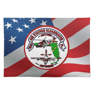 Coast Guard Air Station Clearwater Placemat