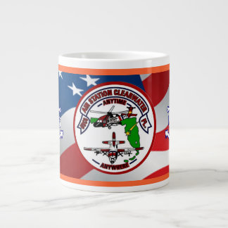 Coast Guard Air Station Clearwater Extra Large Mug
