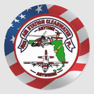 Coast Guard Air Station Clearwater Sticker