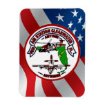 Coast Guard Air Station Clearwater Vinyl Magnet