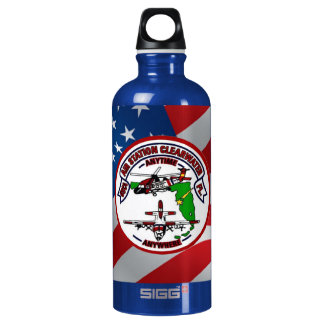 Coast Guard Air Station Clearwater Water Bottle