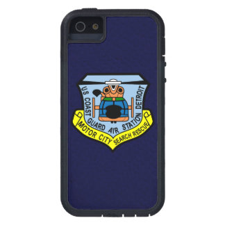 "Coast Guard Air Station Detroit  ""Navy Blue"" Case For iPhone SE/5/5s"