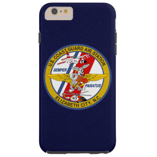 """Coast Guard Air Station Elizabeth City N.C. """"Blue"""" Tough iPhone 6 Plus Case"""