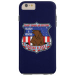 "Coast Guard Air Station Kodiak Alaska ""Navy Blue"" Tough iPhone 6 Plus Case"