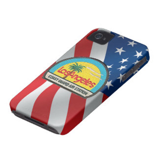 Coast Guard Air Station Los Angeles iPhone 4 Case-Mate Case