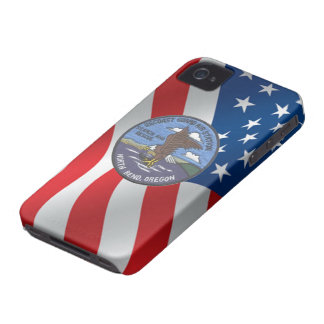 Coast Guard Air Station North Bend iPhone 4 Case