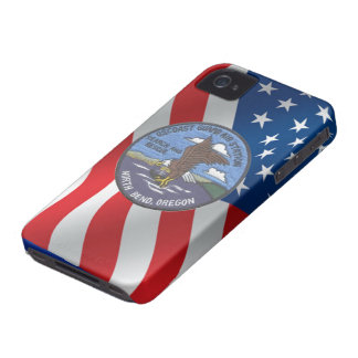 Coast Guard Air Station North Bend iPhone 4 Cover