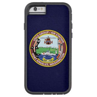 "Coast Guard Air Station Port Angeles ""Navy Blue"" Tough Xtreme iPhone 6 Case"