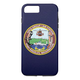 "Coast Guard Air Station Port Angeles ""Navy Blue"" iPhone 8 Plus/7 Plus Case"