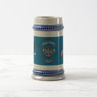 Coast Guard Anchor SCPO Coffee Mug