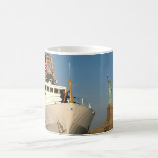 Coast Guard and the Liberty Statue Coffee Mug