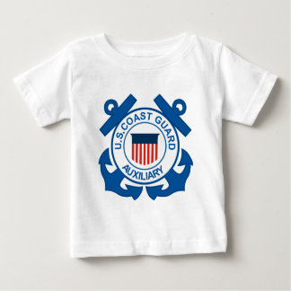 Coast Guard Auxiliary Seal Baby T-Shirt