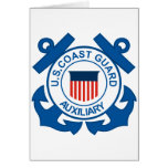 Coast Guard Auxiliary Seal Greeting Card