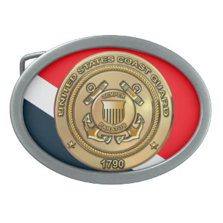 Coast Guard Belt Buckle