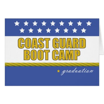 Coast Guard Boot Camp Graduation Card