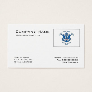 Coast Guard Business Card