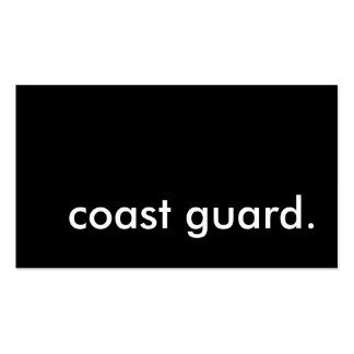coast guard business cards 1 800 coast guard business card templates. Black Bedroom Furniture Sets. Home Design Ideas