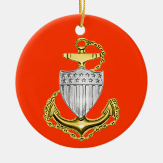 Coast Guard Chief Petty Officer Christmas Ornament