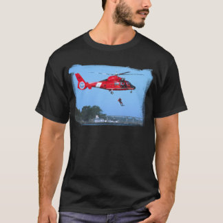 Coast Guard Chopper Black T-Shirt