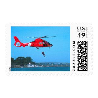 Coast Guard Chopper Stamps