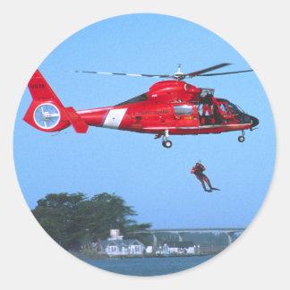 Coast Guard Chopper Sticker