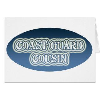 Coast Guard Cousin Card