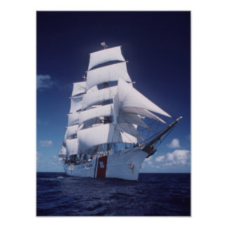 Coast Guard Cutter Eagle Poster
