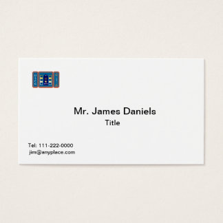 Coast Guard CWO-2 Business Card