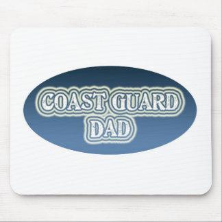 Coast Guard Dad Mouse Pads