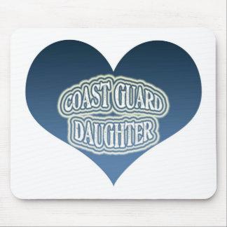 Coast Guard Daughter Mousepads