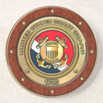 Coast Guard Drink Coaster