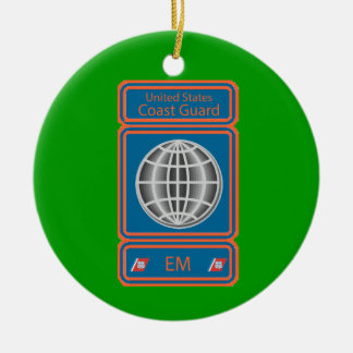 Coast Guard Electrician's Mate Christmas Ornaments