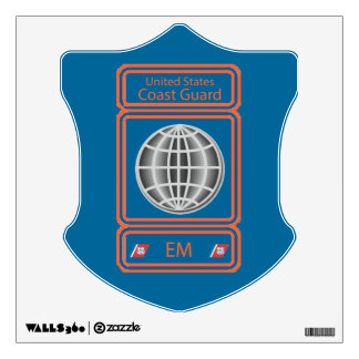 Coast Guard Electrician's Mate Wall Sticker