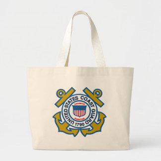 Coast Guard Emblem Tote Bag