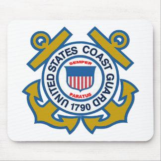 Coast Guard Emblem Mouse Pad