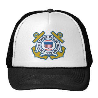 Coast Guard Emblem Trucker Hat