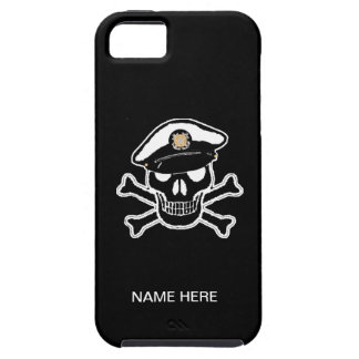 Coast Guard Enlisted Scull & Crossbones iPhone SE/5/5s Case