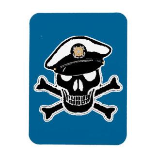 Coast Guard Enlisted Scull & Crossbones Magnets