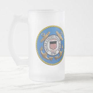Coast Guard Frosted Mug