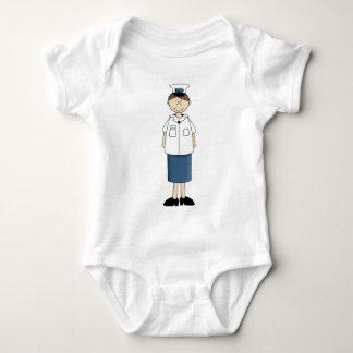Coast_guard_girl Baby Bodysuit