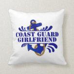 Coast Guard Girlfriend, Anchors Away! Pillow