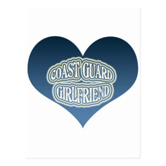 Coast Guard Girlfriend Postcard