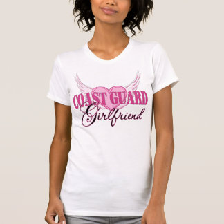 Coast Guard Girlfriend Wings T-shirts