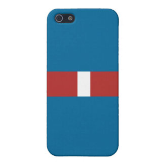 Coast Guard Good Conduct Ribbon Cover For iPhone SE/5/5s