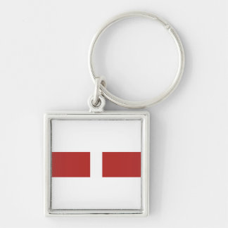 Coast Guard Good Conduct Ribbon Keychain
