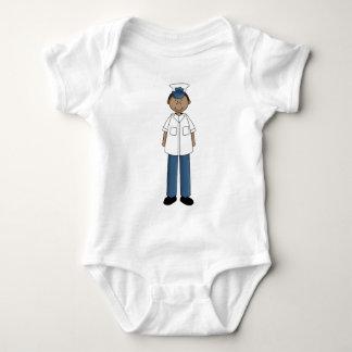 coast_guard_guy baby bodysuit