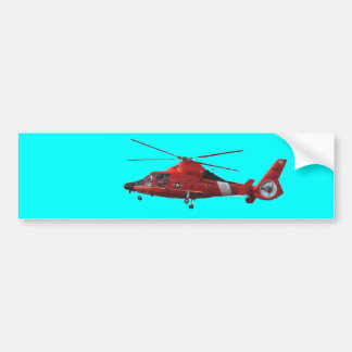 COAST GUARD HELICOPTER BUMPER STICKER