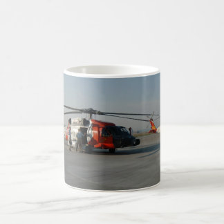 Coast Guard Helicopter Coffee Mug