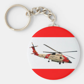 Coast Guard Helicopter Keychain